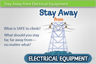Stay Away from Electrical Equipment
